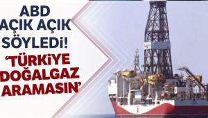 'Türkiye doğalgaz aramasın'
