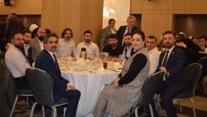 Uluslararası Bilim Düşünce ve Sanat Vakfı üyeleri iftarda buluştu
