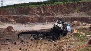 Sakarya'da havai fişek taşıyan kamyonda patlama: 3 şehit, 8 yaralı