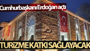 Cumhurbaşkanı Erdoğan açtı, Bursa'nın turizmine katkı sağlayacak