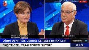 Kaftancıoğlu şaşırtmadı: Demirtaş'a neden terörist diyorlar?