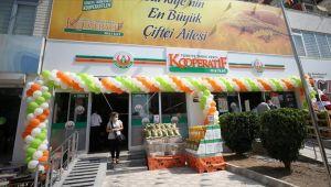 Tarım Kredi Kooperatif Marketlerin 500'üncü şubesi açıldı